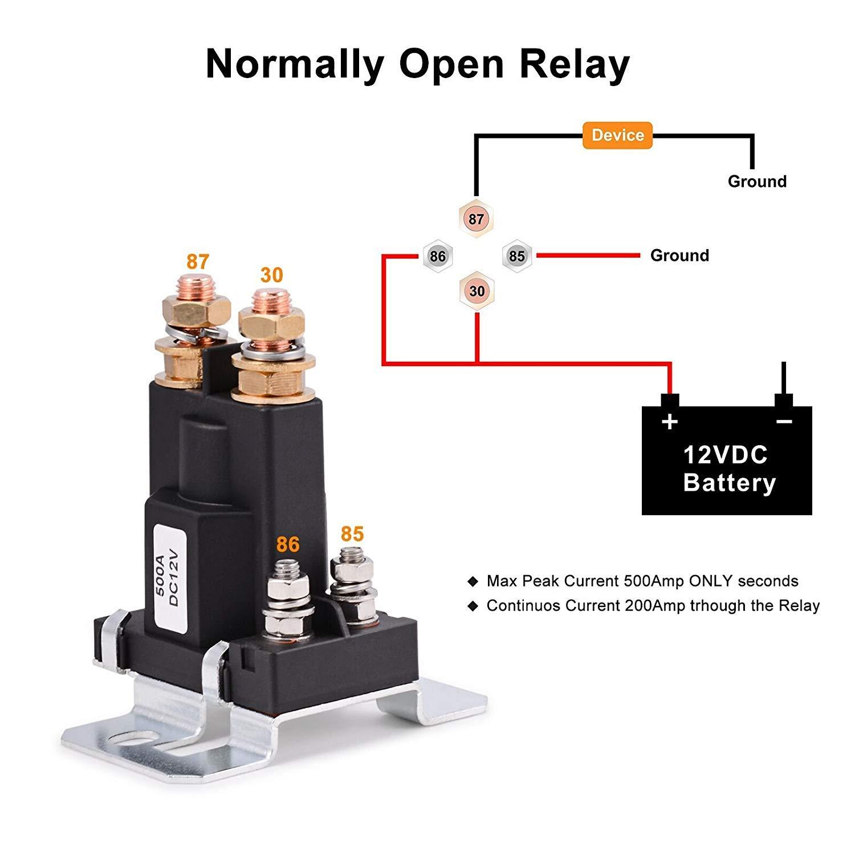Starter Solenoid Wiring Diagram Solenoid Wiring Diagram Boat Battery