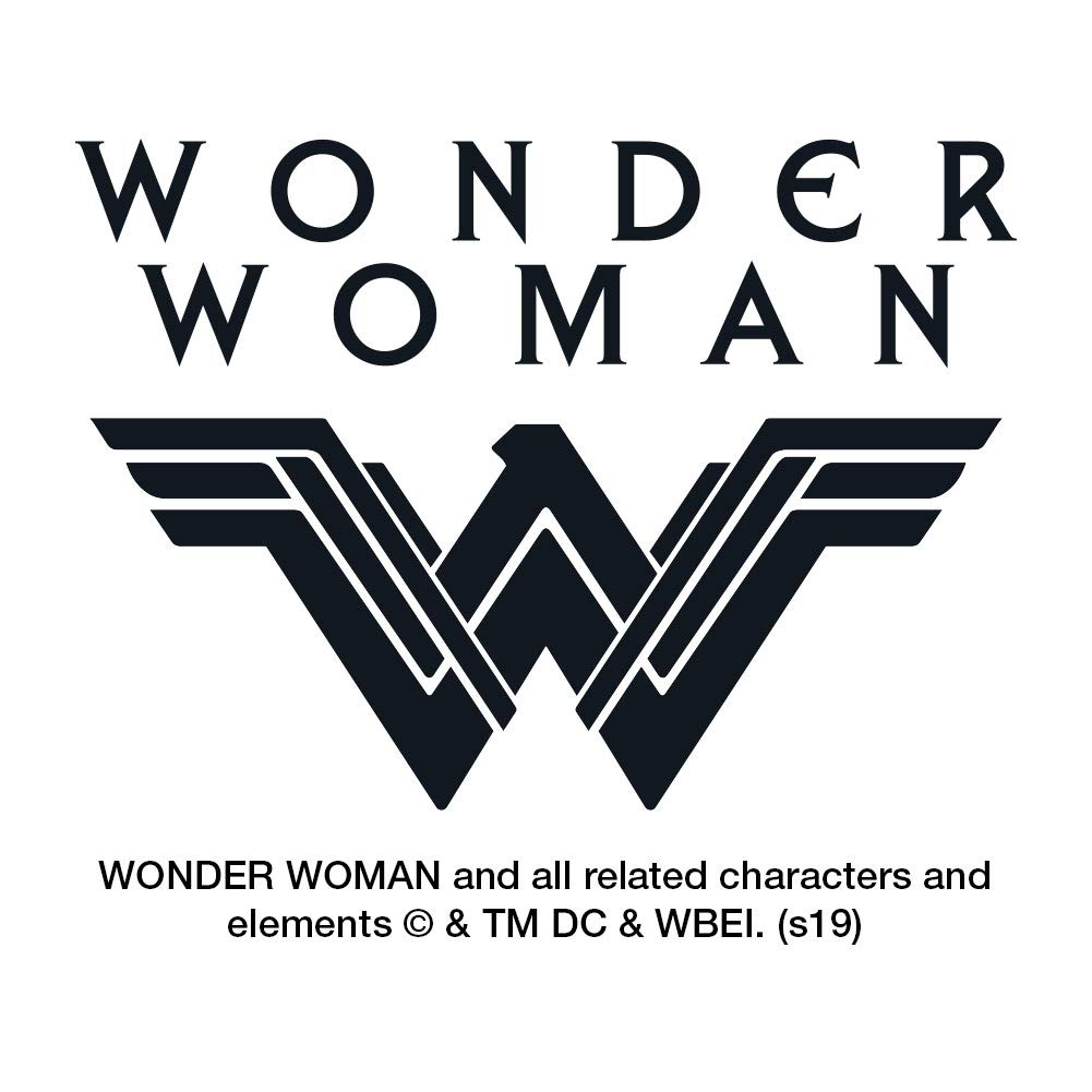 Graphics and More Wonder Woman Movie Blue Pattern Novelty Metal Vanity Tag License Plate