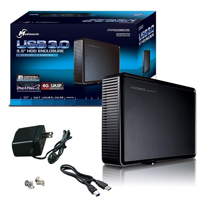 Mediasonic ProBox K32-SU3 3.5