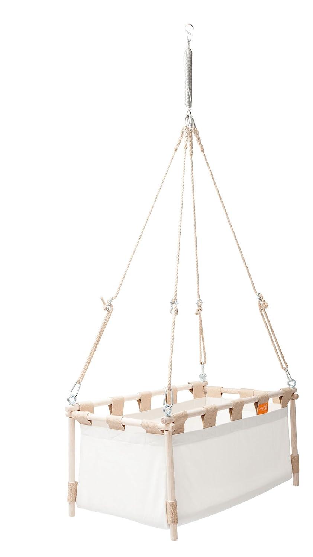 Crib YXTX Baby Cradle Hammock Hanging Cradle Hanging Cradle Lace 38.5 L X 19.6 W White