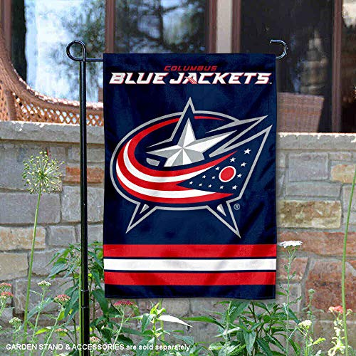 (WinCraft Columbus Blue Jackets Double Sided Garden Flag)