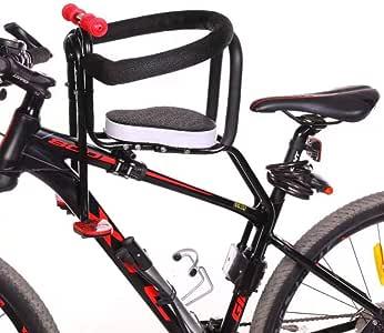 LLIIAYUK Asiento de Bicicleta para niños de Montaje Frontal ...