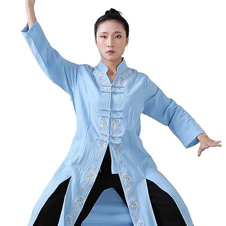 XGYUII Mujeres Tai Chi Ropa Tai Chi Ejercicio Taekwondo Tai ...