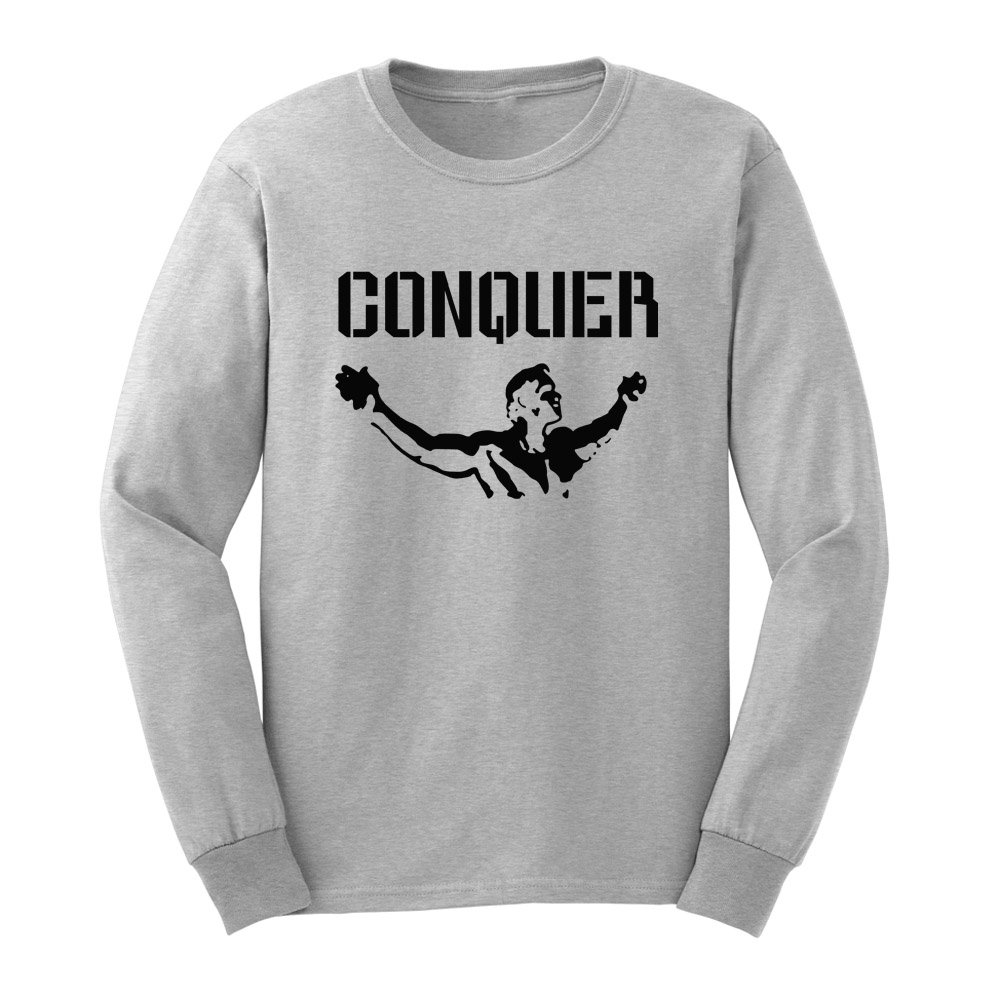 Loo Show S Conquer Pose T Shirts Casual Tee
