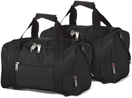 Black + Holdall 5 Cities 55cm//21 Folding Cabin Hand Luggage Suitcase Bags