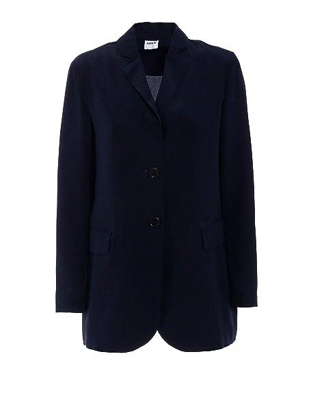 ASPESI Luxury Fashion Donna H308B75305098 Blu Blazer
