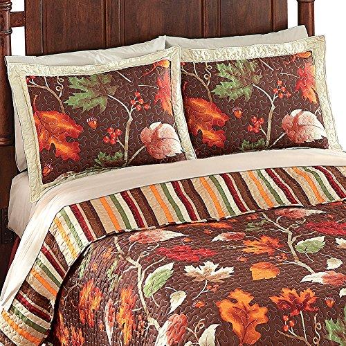Autumn Harvest Leaves Pillow Sham