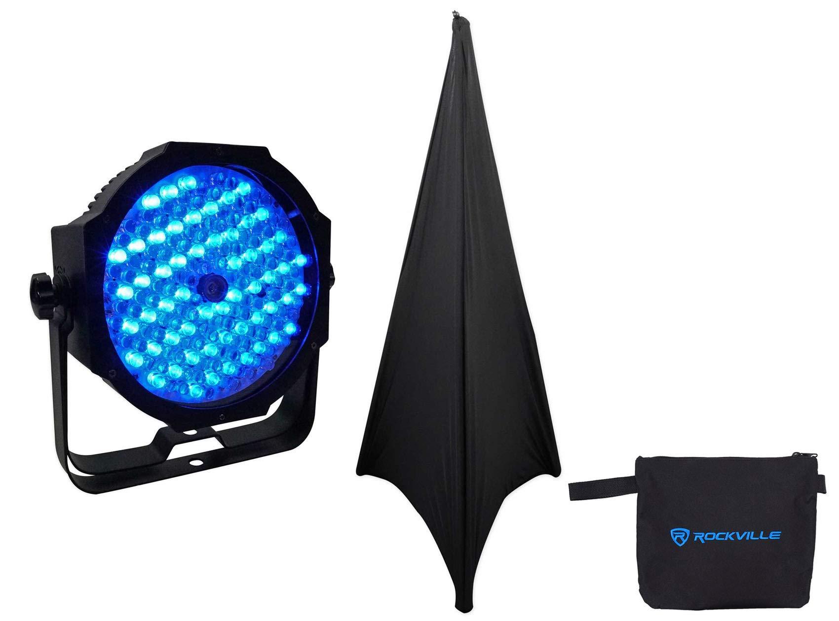 American DJ Mega Go Par64 Plus Battery Powered Par 64 RGB Stage/Wash Light+Scrim