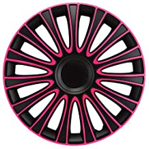 16 inch Le Mans Pink Wheel Cover Kit - 4 Pack