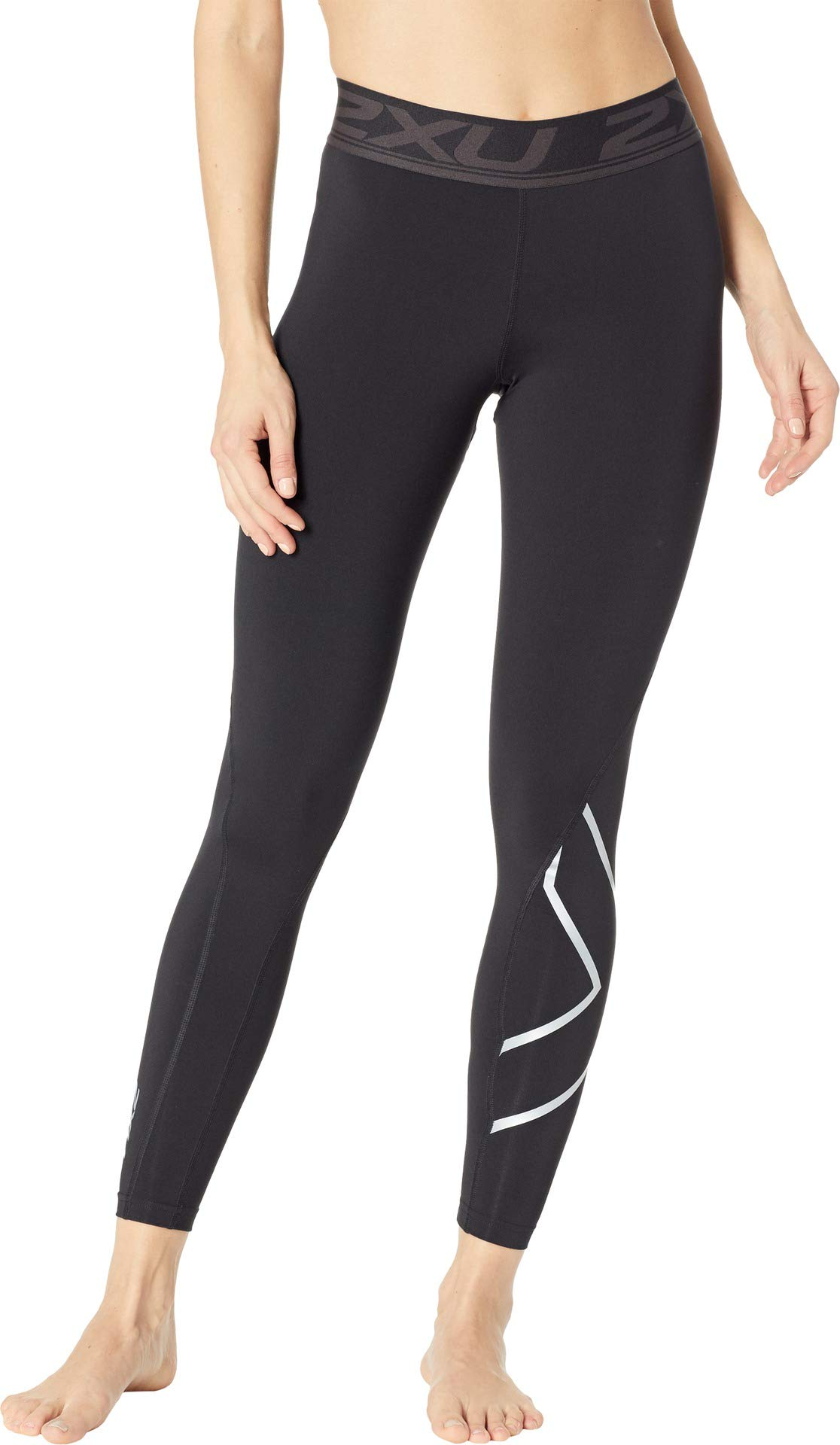 2XU Women's Thermal Compression Tights Black/Silver Large R R