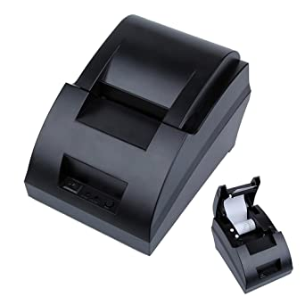 niceEshop(TM) USB Mini 58mm POS Thermal Dot Receipt Bill Printer Set Roll Paper POS Z-5890