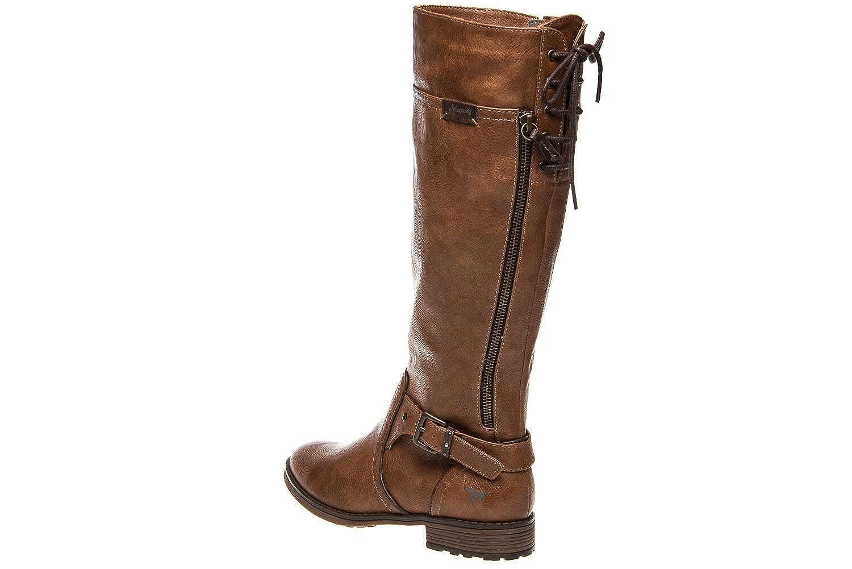 Mustang Damen Stiefel Stiefel Stiefel Braun Braun (Kastanie) 1f6c71