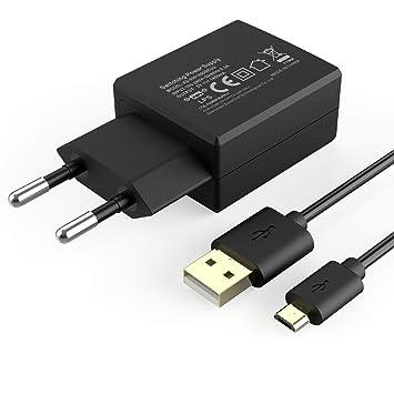 AGPTEK Cargador USB de Pared 9W con Cable 1.5M, Cargador de ...