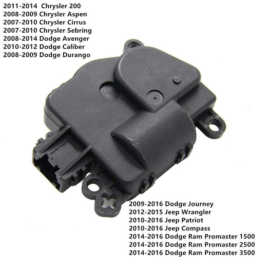 HVAC Heater Air Blend Door Actuator 604-029 for Chrysler Dodge Jeep 68018109AA