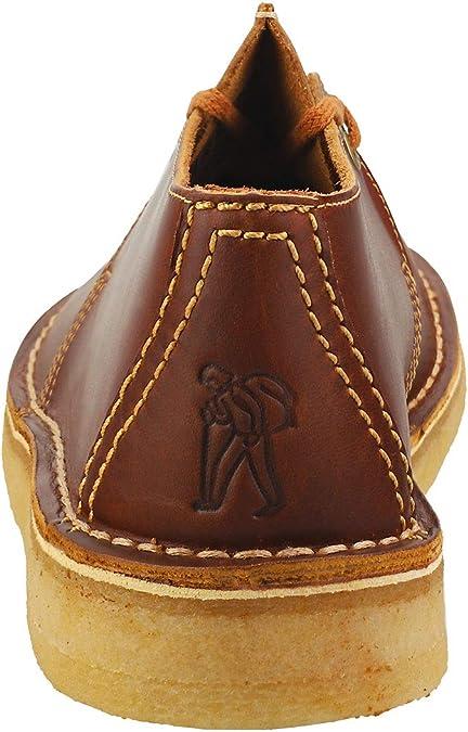 Clarks Originals Desert Trek Tan Leather Center Stitch Oxfords 26148562