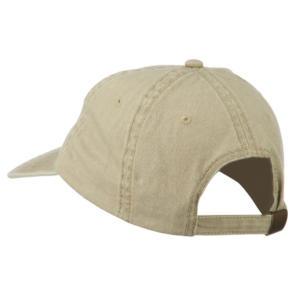 e4Hats.com NASA Insignia Embroidered Pigment Dyed Cap