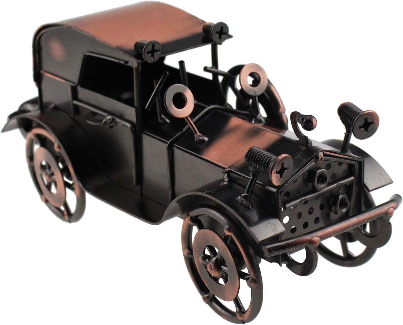 Tipmant Antique Vintage Car Tin Metal Truck Home Décor Accents Decoration Ornaments Collections Collectible Vehicle Model