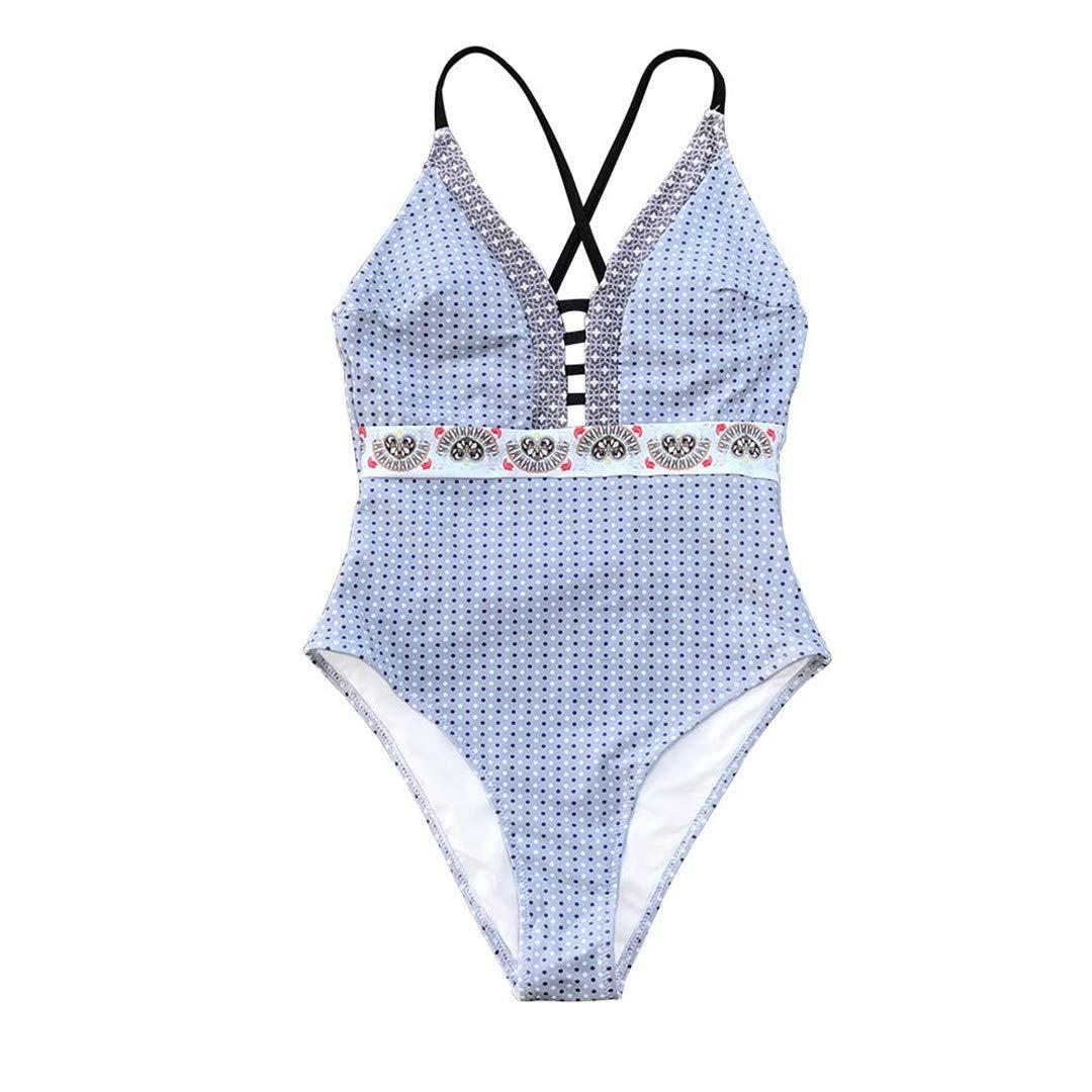 OP/&BKN One-Piece Swimsuit Strappy Leg Monokini Beach Bathing Suit Swimwear
