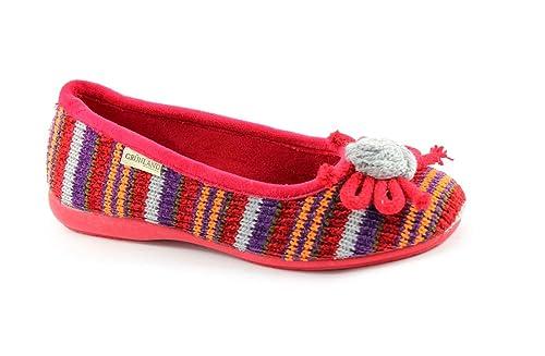 GRUNLAND ESTIMADO PA0452 Zapatillas Rojas Zapatillas de Tela Dama: Amazon.es: Zapatos y complementos