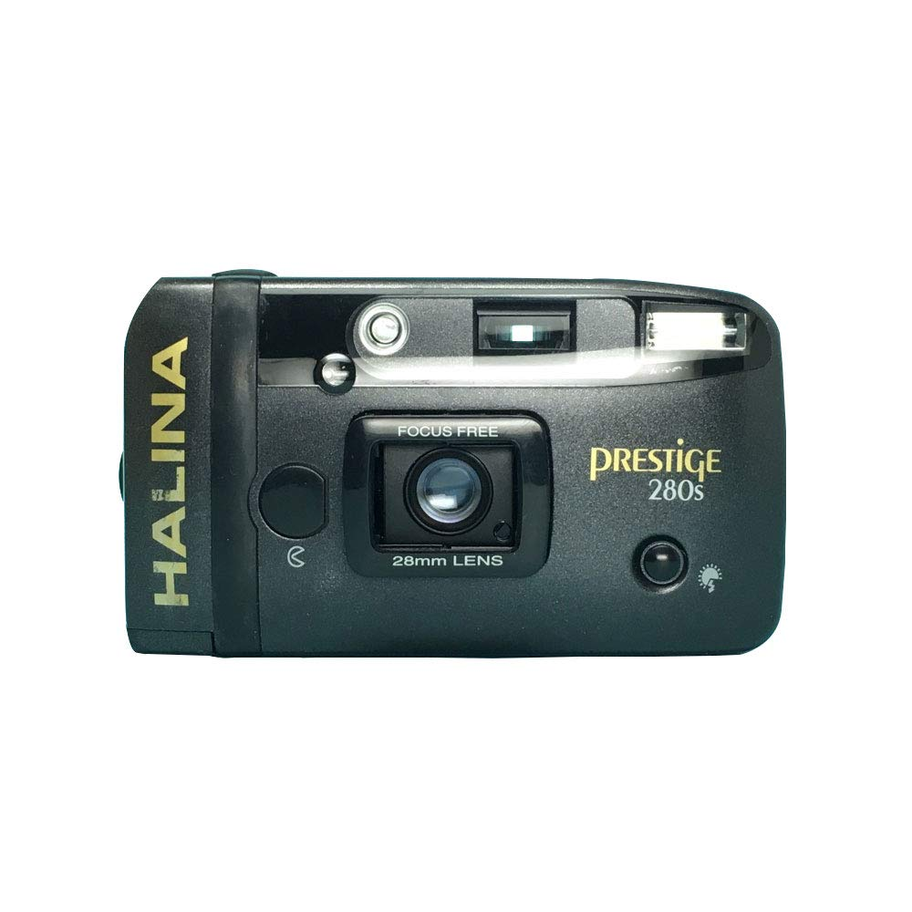 Halina Prestige 280S 35mm Film Camera Vintage Point & Shoot Flash 28mm by Halina