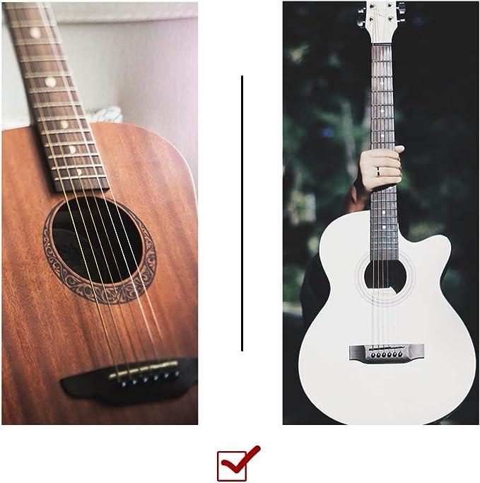 Irich Tuerca de Guitarra y Saddle Kit, Puente y Sillín de 6 ...