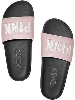 ebc72ef6377 Victoria s Secret PINK Crossover Comfort Slide Sandals Shoes