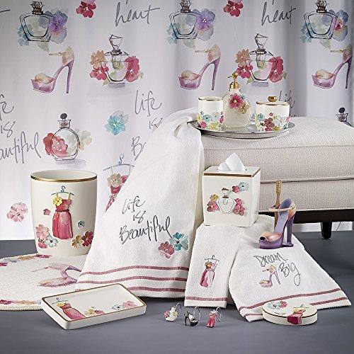 - Avanti Linens Dream Big Bath Acessories (tissue holder)