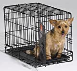 Qpets 24 by 18 by 21-Inch Dog Cage, Medium Review