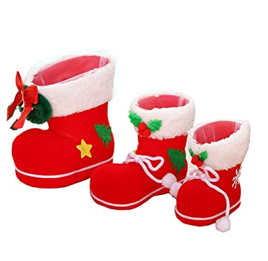 qinni shop creative gift for the christmas decorations and boots a set of three - Christmas Gift Decorations