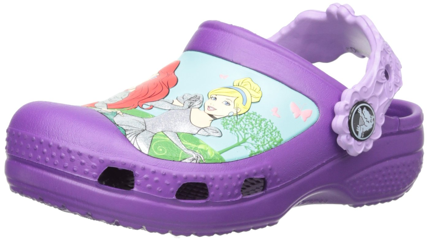 crocs Magical Day Princess Clog (Toddler/Little Kid),Amethyst/Iris,12 M US Little Kid