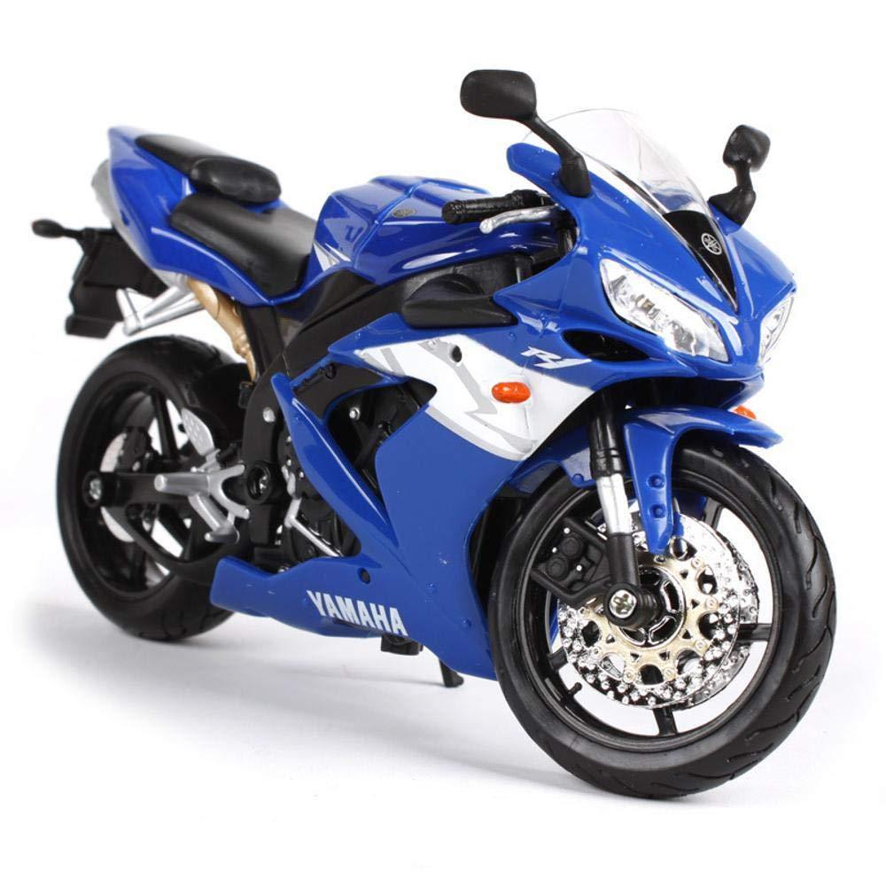 Penao Yamaha R1 Motorrad Ornamente, Legierung Simulation Automodell, Verhältnis 01:12