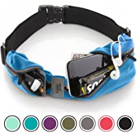 Sport2People Running Belt USA Patented - Fanny Pack Hands-Free Workout - iPhone X 6 7 8 Plus Buddy Pouch Runners - Freerunning Reflective Waist Pack Phone Holder - Fitness Gear Accessories