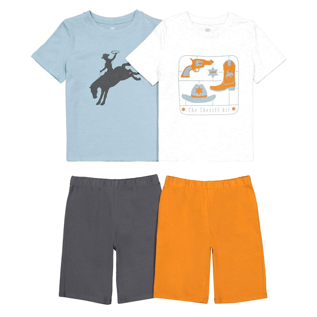 La Redoute Collections Big Boys Pack of 2 Short Pyjamas 3-12 Years