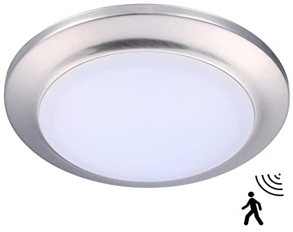 Cloudy bay motion activated ceiling light 12w 5000k bright day cloudy bay motion activated ceiling light12w 5000k bright day light75 inch led aloadofball Images