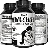 Male Enhancing Pills-Top Rated Natural Enhancer-Best Review Herbal Maca Root Powder + Tongkat Ali Extract – Libido Booster – Men Increase Stamina + Sex Drive – 745 mg Tablets – Nexus Nature