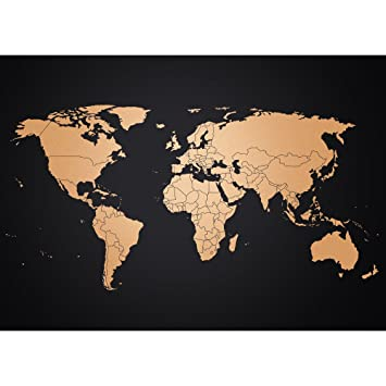 wandbild weltkarte Amazon.de: Poster Weltkarte von Awesome Maps | Wandbild Weltkarte  wandbild weltkarte