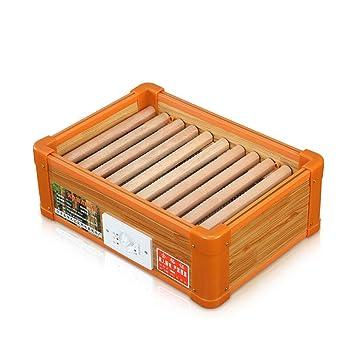 Ventilador eléctrico portátil Calentadores de madera maciza Calentadores para pies de oficina Calentador Estufa eléctrica para