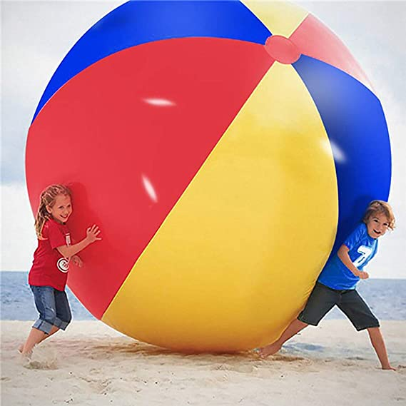 Súper Gran Gigante Pelota de Playa Inflable Playa Jugar Deporte ...