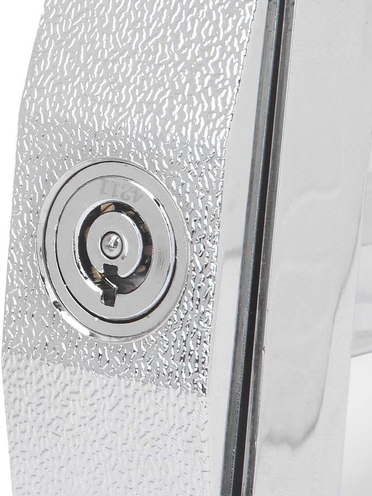 Atyhao Cerradura de m/áquina expendedora Caja de Seguridad Universal de aleaci/ón de Zinc Cerradura de gabinete Cerradura de Seguridad de m/áquina expendedora de refrescos con Llaves