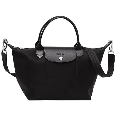 Longchamp Le Pliage Neo Small Handbag (Black)  Amazon.co.uk  Shoes   Bags dc73cee4d6