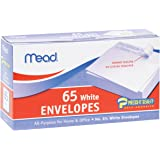 Mead Press-It Seal-It #6 3/4 White Envelopes, 65 Count (75028)