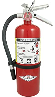 Amerex B402 5lb ABC Dry Chemical Class A B C Fire Extinguisher With Wall Bracket
