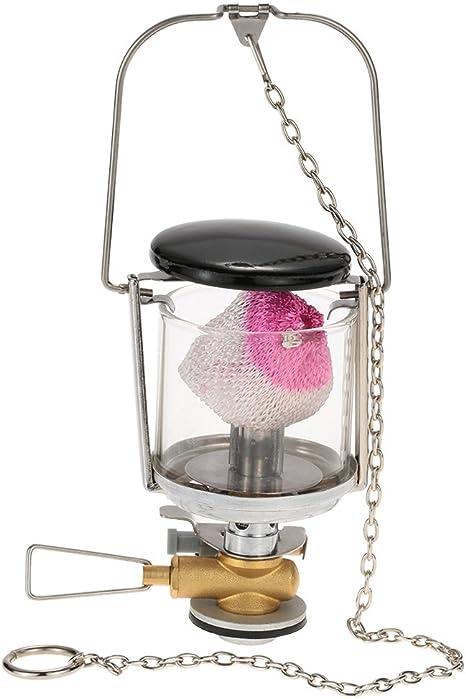 brs-21 Mini al aire libre Gas butano lámpara al aire libre ...