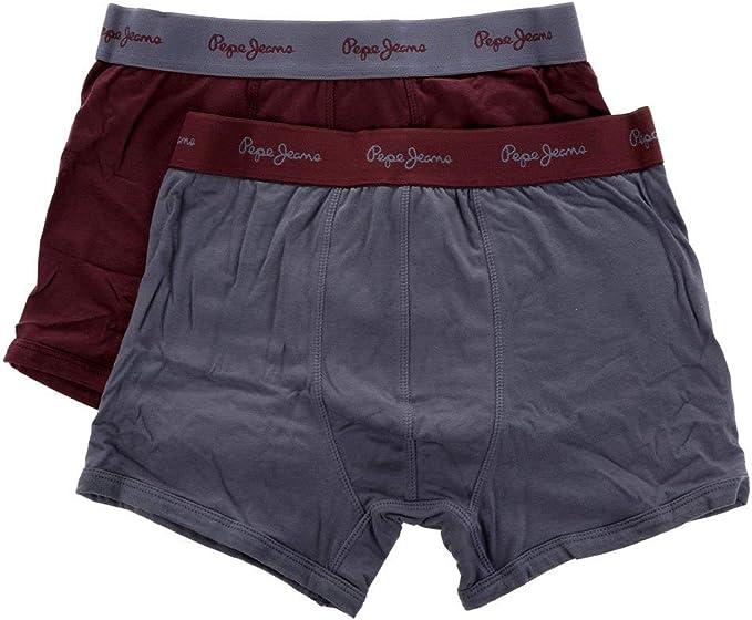 Pepe Jeans Pack De 2 Bóxers Camdem Morado M: Amazon.es: Ropa y ...