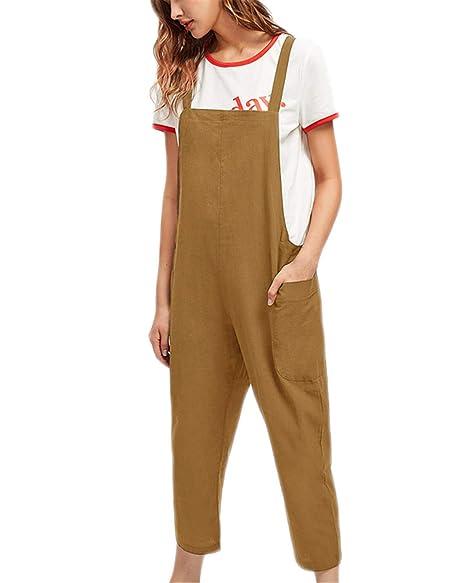 Amazon.com: Kidsform - Pantalón para mujer, sin mangas ...