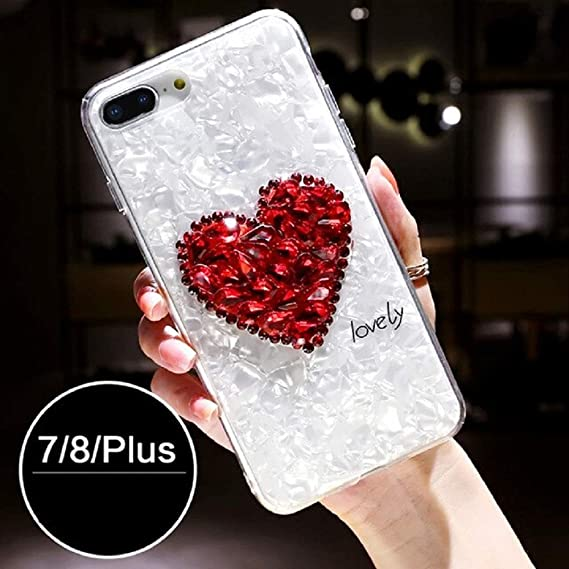 Amazon Com 1pc Heart Love Patterned Case For Iphone 6 6s 7