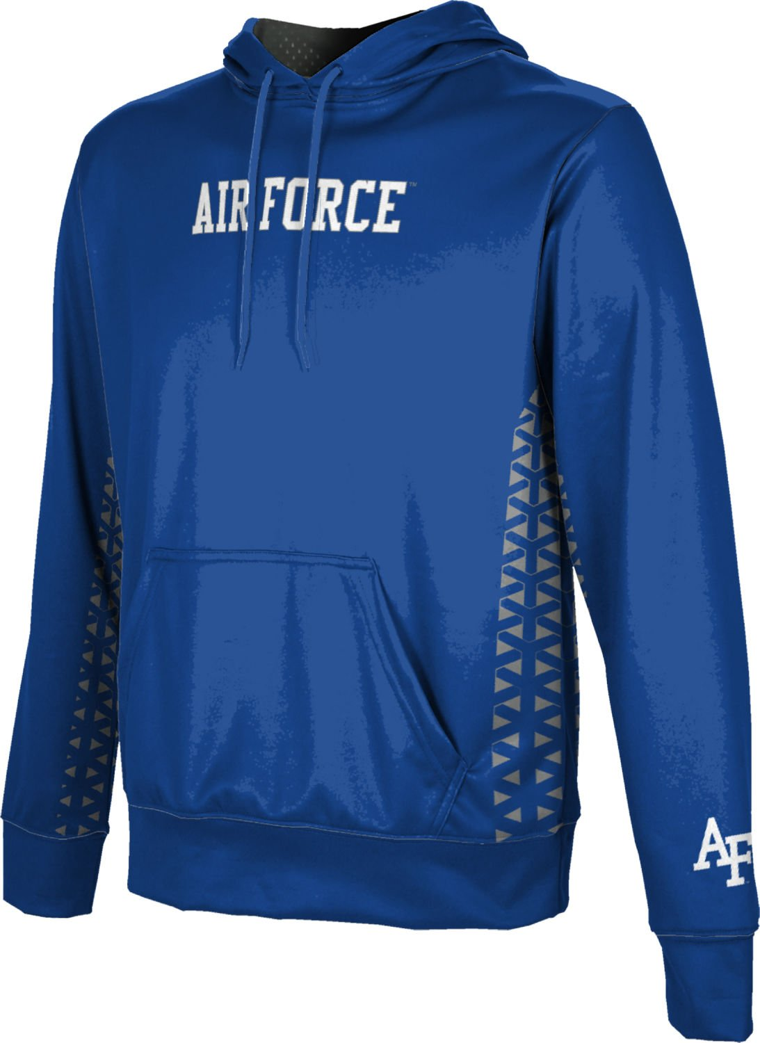 ProSphere U.S. Air Force Academy Boys' Pullover Hoodie, School Spirit Sweatshirt (Geo) FEA9