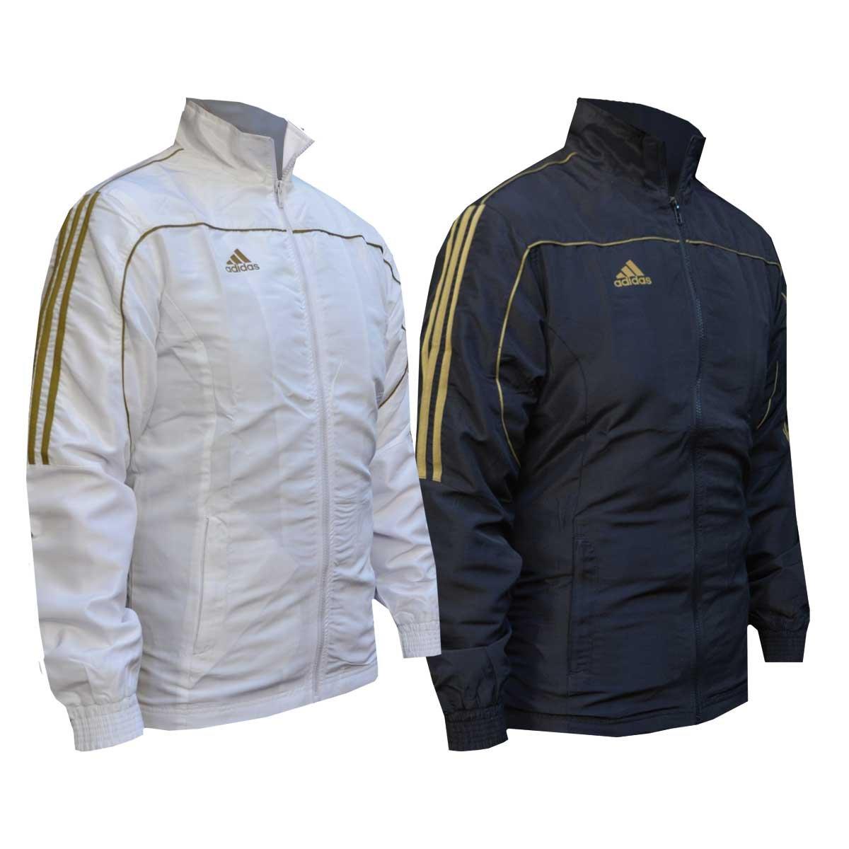 Adidas Giacca Tuta Gold Stripes