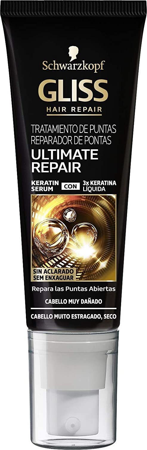 Gliss Ultimate Repair Reparador Puntas Abiertas 50 Ml