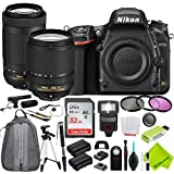 Nikon D750 DSLR Camera with Nikon 18-140mm Lens and Nikon 70-300mm Lens 2 Lenses Bundle
